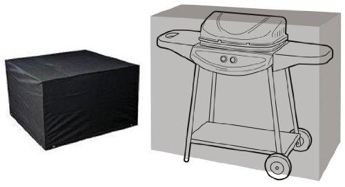 HBCOLLECTION Housse Noire pour Barbecue BBQ Wagon 124cm Gamme Confort