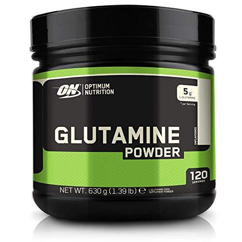Optimum Nutrition ON Glutamin Pulver, Aminosäuren Pulver, Nahrungsergänzungsmittel mit l Glutamin, Unflavoured, 200 Portionen, 1kg