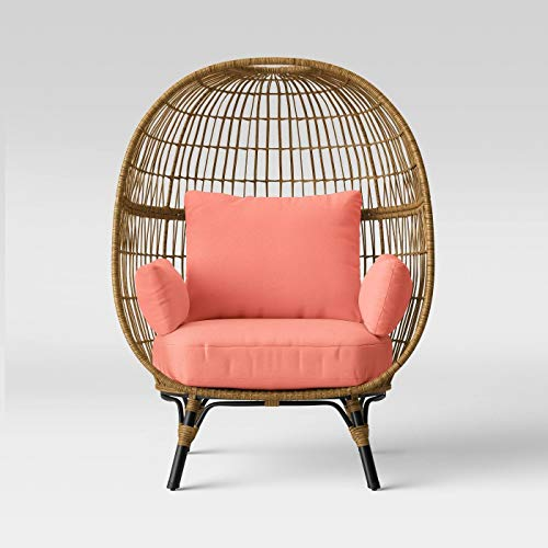 Southport Patio Egg Chair - Coral