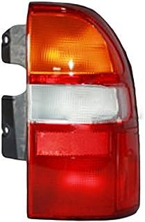 6 inch -Black 100W Halogen Larson Electronics 1015P9IK1FG Passenger Side with Install kit 2004 Dodge Caravan Post Mount Spotlight