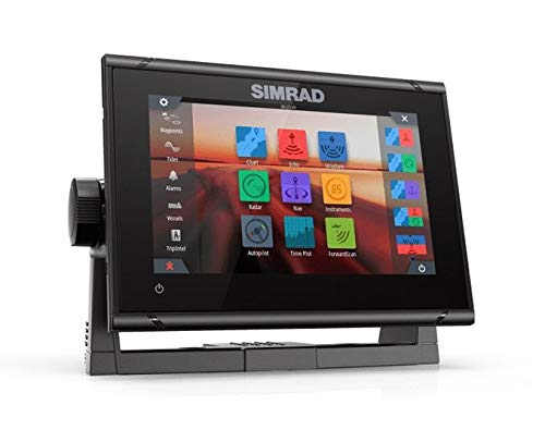 Simrad GO7 XSR 7-inch chartplotter and Radar Display with Active Imaging 3-in-1 transducer and a C-MAP Insight Pro Card (000-14838-001)