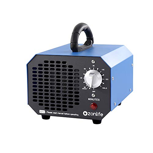 Ozone Generator Deodorizer 6,000mg Industrial O3 Air Purifier Sterilizer, Odor Remover for Home,Office,Factory