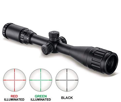 Best Prices! GOTICAL 3-9X40 AOL Optical Sight Riflescope Full Size Red Green Blue Mil-Dot llluminate...