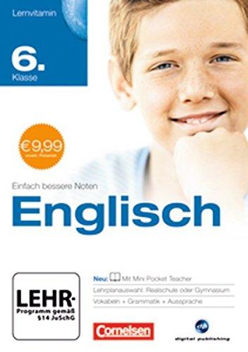 Lernvitamin - Englisch 6. Klasse (mit Spracherkennung)