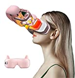 Dongshan Steam Eye mask Eye Massager USB Rechargeable Warm Compress Bag Relieve Fatigue Eye mask Fever Fever Eye mask steam Sleep Eye mask