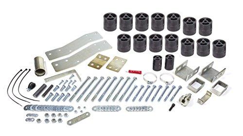 Performance Accessories, Dodge Dakota Gas Std/Ext/Quad Cab 3' Body Lift Kit, fits 2000 to 2002, PA60043, Made in America