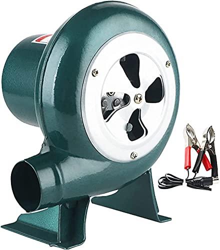 TYSJL BBQ Blower Velocidad Variable, STOWER DE Forte ELÉCTRICA DE 12V DC, Blacksmith Forge Blower Chimenea Chimenea Starter Smoker Fan (Size : 30W)