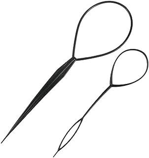 Plastic Magic Hair Braid Ponytail Maker Clip Tool Simple DIY Hair Loop Accessories Kit for Hair Styling