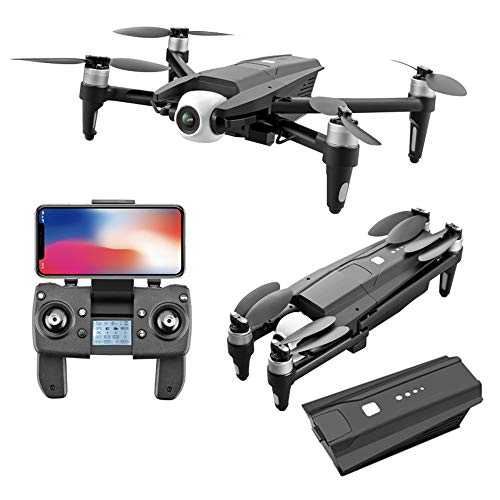ZHBD Brushless GPS Foldable Drone, 6K High-Definition Aerial Camera, Equipped with 3-Axis Mechanical Anti-Shake Gimbal, 5G High-Definition Video Camera, VR Equipped, Giving You A 3D Experience.
