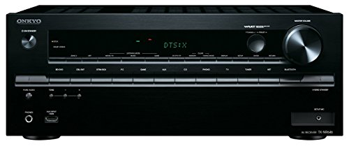Onkyo TX-NR646 (B) 7,2-Kanal Netzwerk-AV-Receiver (DTS: X-fähig, Dolby Atmos, 160 Watt, WiFi, Bluetooth, AirPlay, Musikdienste, DLNA) schwarz