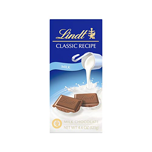 Lindt Classic Recipe Milk Chocolate Bar, 4.4 Ounce (Pack of 12), Packaging May Vary