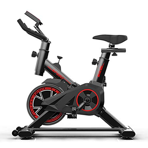 Cyclette Indoor Ciclismo Bike-Belt Drive Bicicletta Magnetica Stazionaria con Trasmissione A Cinghia Silenziosa E Livelli di Resistenza Infiniti per Home Studio Salute Fitness