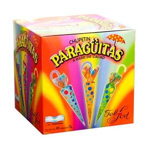 Sale item Felfort Paraguitas de Chocolate Chupetines grs. Product Lollipops 520 40