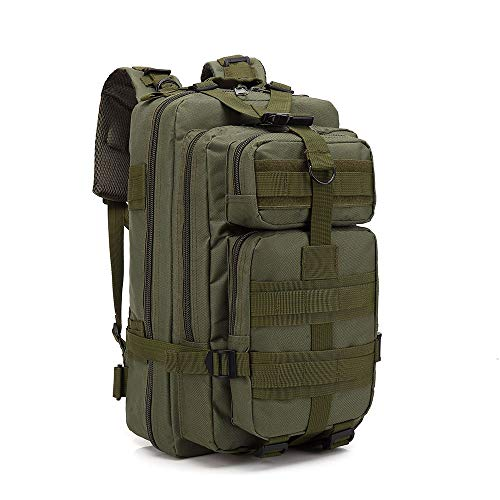 ACCDUER 40L Large Military Tactical Backpack Best Pack for Bug Out Bag, 3 Day Assault, Hunting, Hiking, Rucksack,Green