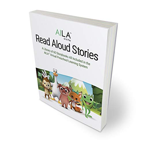 AILA Sit & Play™ Read Aloud Stories Softcover Book 400+ Pages Includes 60 Stories
