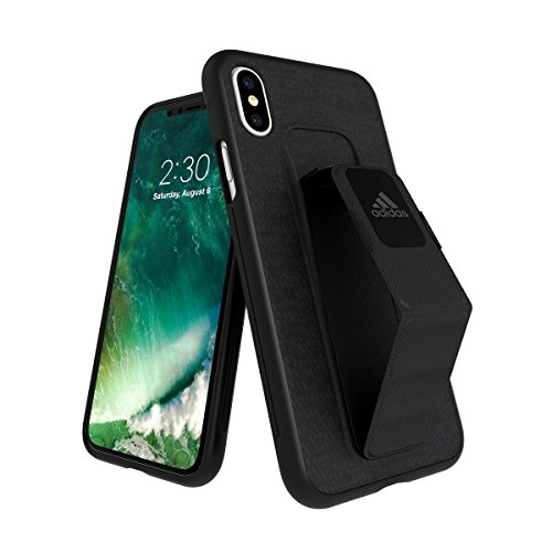 adidas Performance Grip Case Handyhülle für Apple iPhone X - Schwarz Black