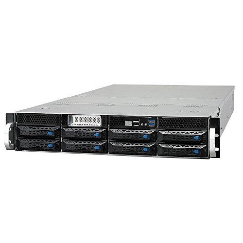 Price comparison product image ASUS ESC4000 G4 (1+0) 2 x Socket P / Intel C621 / DDR4 / S-ATA / 600 / 2U Rackmount Server - Silver