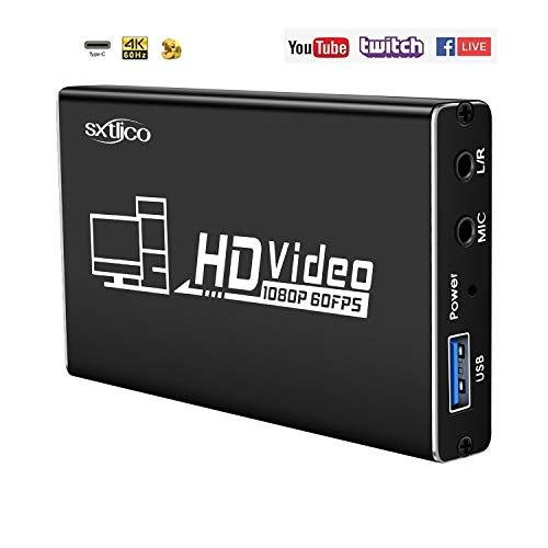 pas cher un bon Carte de capture vidéo universelle 4K / 60Hz avec audio 3,5 mm pour Windows / Linux / Mac…