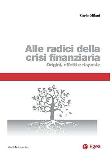 Alle radici della crisi finanziaria: Origini, effetti e risposte (Italian Edition)