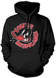 Hoodie Daffy Duck Youre Despicable Distressed Official Pullover