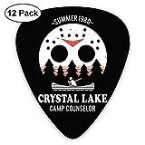 Púas de guitarra Camp Crystal Lake (paquete de 12) para guitarra eléctrica-49-75C