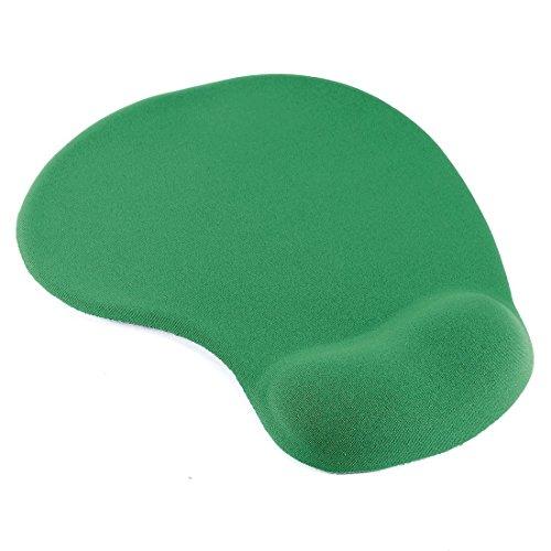 uxcell Soft Comfort Wrist Gel Rest Support Mouse Pad Mice Mat Desktop Dark Green
