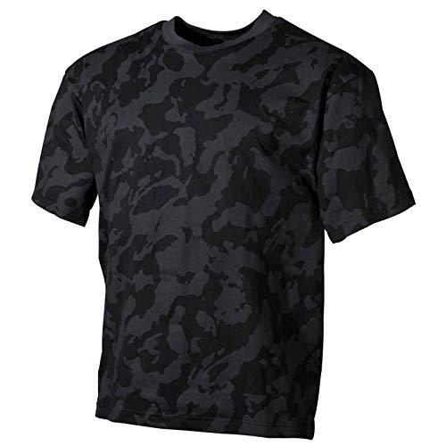 MFH 00104D US Army Herren Tarn T-Shirt (Night Camo/L)
