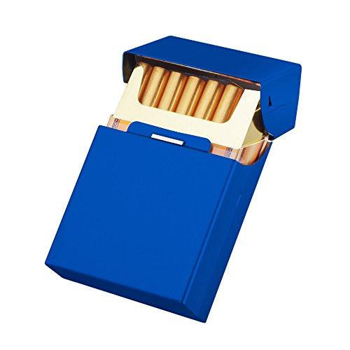 シガレットケース/タバコケース/煙草ケース/アルミケース 20P (青)