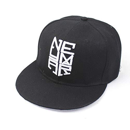 AHHMT Baseball Cap Neymar NJR Hut Für Männer Frauen Europa Casual Hip Hop Hysteresenkappen Sonnenhüte-D