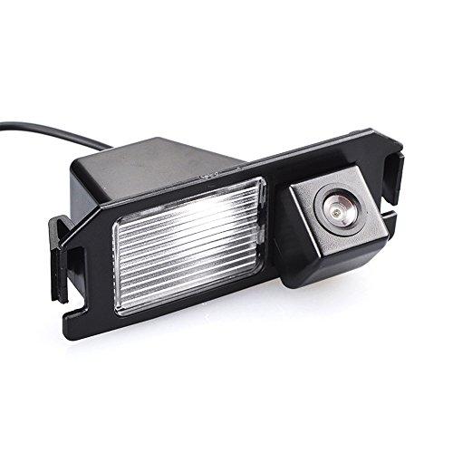 Navinio Auto Rückfahrkamera Farbkamera Einparkkamera Nachtsicht für Rückfahrsystem Einparkhilfe für Hyundai i10 i20 i30 Solaris Tiburon