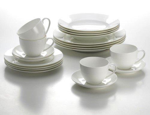 Geschirr-Set CASHMERE 20tlg / Maxwell & Williams/Tafelservice/Kaffeeservice/Porzellanservice
