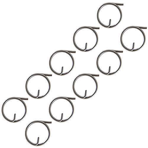 FASTON® Ringsplinte 1,25X15mm Edelstahl A4 V4A (10 Stück) Sicherungsringe Ring Splint Steckbolzen Schlüsselringe
