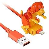 GHMPNLG El Cargador del Cable USB, el Cable de Carga, el Cable de Carga de Perros callejeros, facilitan la Carga más Segura, Adecuada para niños de Mascotas USB para niños