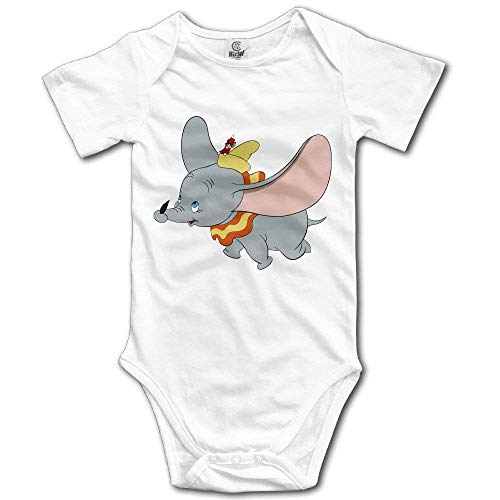 Dezzert030 Populäres Tierelefant-Dumbo-Baby-Strampler-Baby