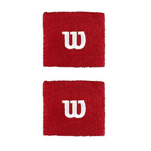 W WRISTBAND WILSON RED
