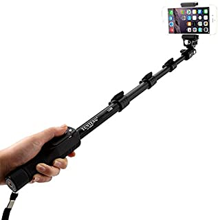 YunTeng Heavy Duty Selfie Stick with Removable Bluetooth Remote - YT-1288