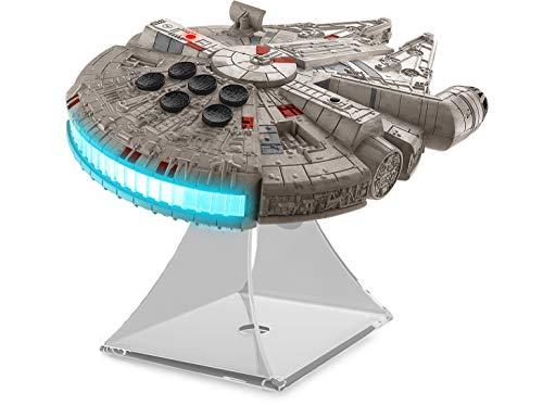 EKIDS Star Wars Classic 7, Speaker con Tecnologia Bluetooth Veicolo Supereroe Millenium Falcon Grey