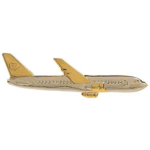 TRIPIN Classic Aeroplane Shape Tie Pin for Men