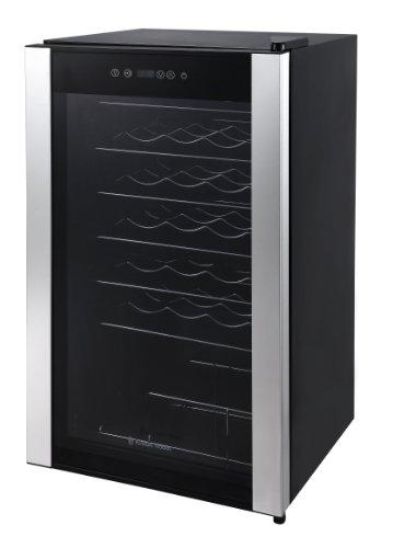 Russell Hobbs RH34WC1 Freestanding Wine Cooler, 34 bottle capacity, Black