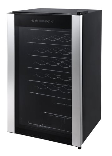 Russell Hobbs RH34WC1 Freestanding Wine Cooler, 34 bottle capacity, Black