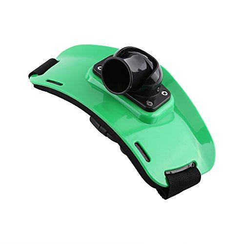Cinturón de Soporte de Cañas de Pescar Ajustable Accesorios de Pesca ( Color : Verde )