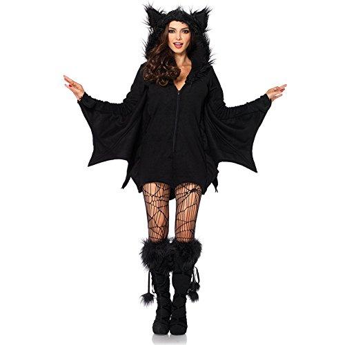 Costour Disfraz de Piel para Halloween para Princesa Con Uniforme de Bat para Fiesta Disfraz con Capucha