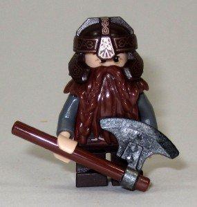 Lego: Lord of the Rings (2013) - Gimli - Loose Mini Figure by LEGO (English Manual)