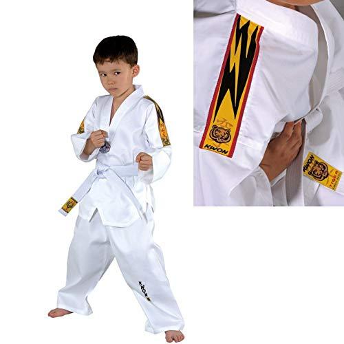 KWON 551005 Tiger - Quimono de taekwondo para niño Talla:120