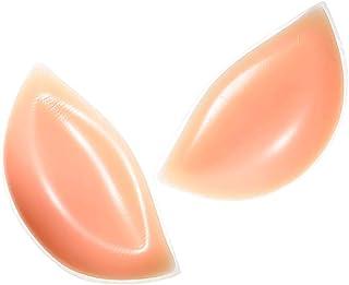 Silicone Bra Inserts,  Breast Chest Enhancers Pads Push-up Molding Padding for Swimsuits/Bra/Bikini,  Skin