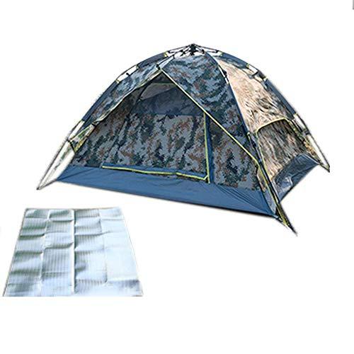 Z-LIANG Digital Camuflaje 3-4, Humedad Pad, Formación Camping al Aire Libre a Prueba de Lluvia, Carpa de Turismo