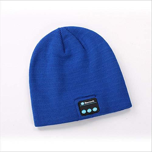 Ysakura Gorra Bluetooth, Hombre Regalos Bluetooth Sombrero,Sombrero Elegante de Moda, Sombrero de Punto Bluetooth,Gorro de música inalámbrico de Punto cálido