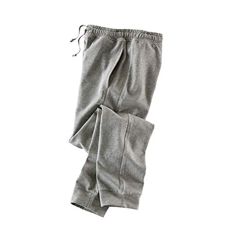 STOOKER Sean Trainingshose, Freizeithose, Jogging Hose Gr. M - XXXL (Grey Melange, XL)