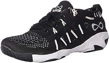 Nfinity Flyte Night Cheer Stunt Shoe Sneaker, Black, 6 Regular US