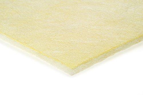 2er Pack Feinstaubfilter/Pollenfilter Filtermatte Filterklasse F9 //Farbe gelb // Größe 40 x 40 cm